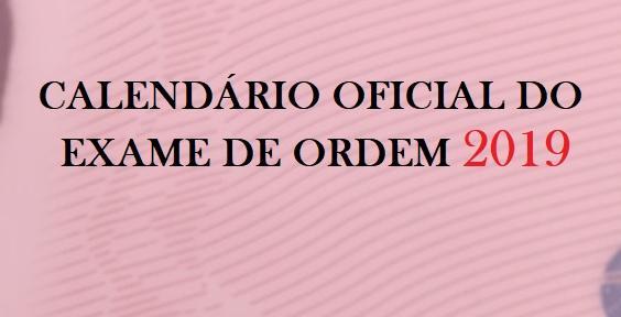 Calendário OAB 2019: Datas oficiais do Exame de Ordem - Blog