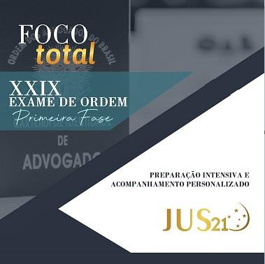 Cronograma Extraordinário de Estudos para o XXIX Exame de Ordem