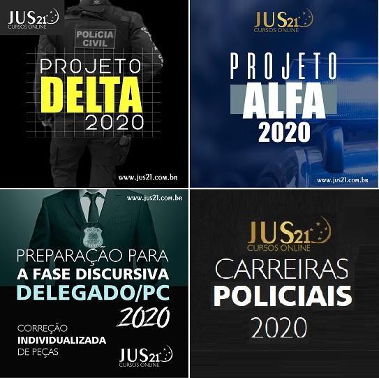 Carreiras Policiais 2020 Do Jus21 Hora De Iniciar A