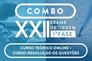 cursos para o XXII Exame de Ordem