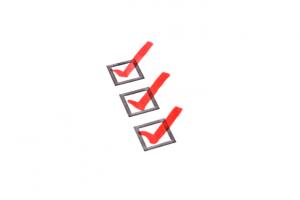 check list para a prova da OAB
