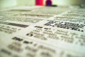 publicidade de escritórios em jornais