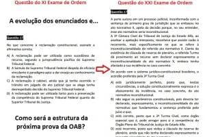 Como será a estrutura da próxima prova da OAB