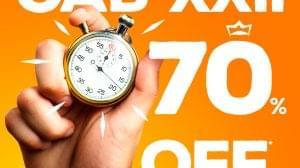 Contagem Regressiva: 70% de desconto nos cursos do Portal!