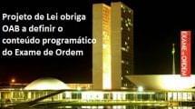 conteúdo programático do Exame de Ordem