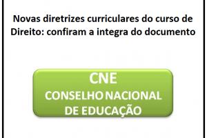 Novas diretrizes curriculares do curso de Direito: confiram a integra do documento