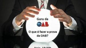 O que é fazer a prova da OAB
