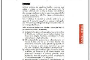 XXII Exame de Ordem: Recurso para a questão dos arquitetos Nivaldo e Amanda