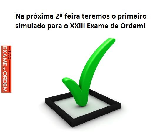 Simulado exame da ordem