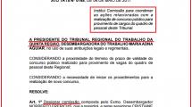 Vem aí o concurso do TRT da Bahia