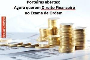 Direito financeiro no Exame de Ordem