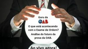 futuro da prova da OAB