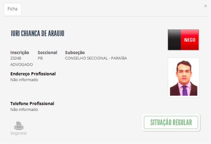 De pele clara e cabelos lisos, o advogado Iuri Chianca de Araújo prestou concurso e foi nomeado para um cargo no Tribunal Regional Eleitoral de São Paulo, em uma vaga da cota reservada para negros.