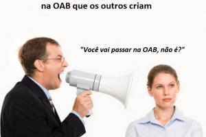 expectativa da sua aprovação na OAB