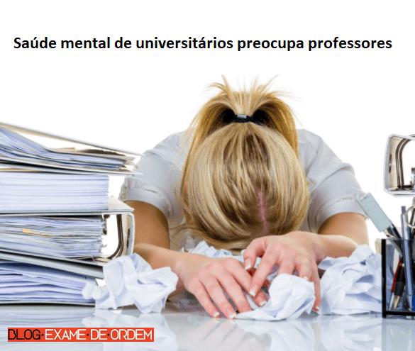 Saúde mental de universitários