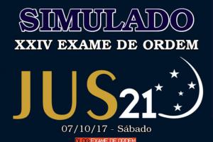 Simulado Jus21