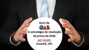 Estratégia de resolução da prova da OAB