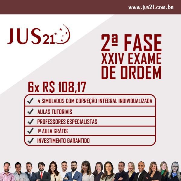 prova subjetiva do XXIV Exame de Ordem