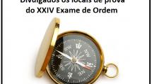 locais de prova do XXIV Exame de Ordem