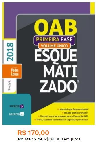 livros para oab