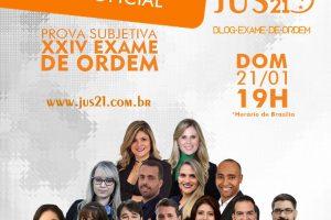 Gabarito Extraoficial Jus21