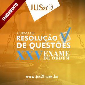 curso de questões para o XXV Exame de Ordem
