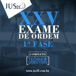 Curso OAB teoria e questões jus21