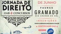 Jornada de Direito OAB + Concursos em Gramado/RS