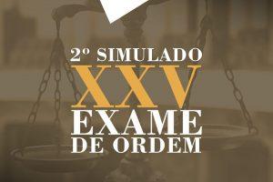 Hora do 2º Simulado do Jus21 para o XXV Exame de Ordem
