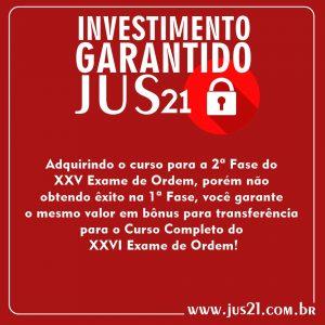 Investimento garantido Jus21